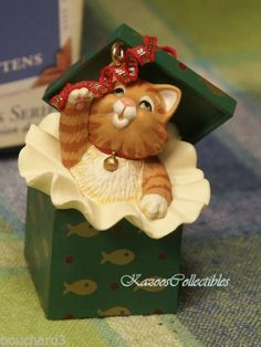 Hallmark Mischievous Kittens Ornament Gift to Cindy