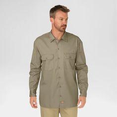 8b5ba706c9b Dickies® Men's Big & Tall Original Fit Long Sleeve Twill Work Shirt