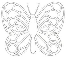 See related image detail Detailed Coloring Pages, Pattern Coloring Pages, Colouring Pages, Kirigami, Butterfly Drawing, Butterfly Crafts, Butterfly Template, Butterfly Design, Applique Stitches