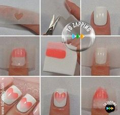 Uñas Decoradas Paso A Paso. Queremos enseñaros cómo hacer paso a paso una decoración de uñas que se llama Ombre, que nos da un efecto muy bonito y que es