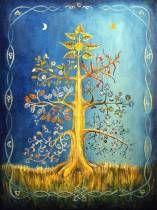 """""""Etz Chaim"""" (A Árvore da Vida) está para o céu tanto quanto para a terra (mundo físico) diz a Chassidut. Ela brilha nos mundos superiores e desce para esses mundos inferiores com sua luz que nos chega de maneira que possamos suportar no sentido de existir. """"Etz Chaim"""" (A Árvore da Vida) está para o céu tanto quanto para a terra (mundo físico) diz a..."""