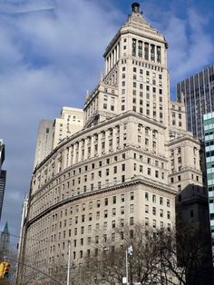 Standard Oil Building (1922) William F. Lamb - Baltimore, Maryland, USA.  In later years the building was occupied mostly by City Government Offices.  In 2000 it was placed on the National Historic Register.  After a 25 million dollar rehab it opened in 2002 as a residential complex.