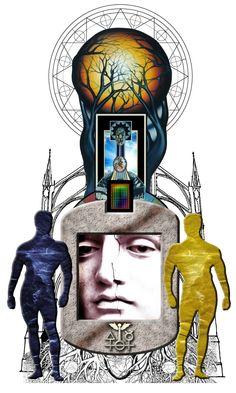 Il mistero della cattedrale (opera immateriale realizzata con tecniche digitali)