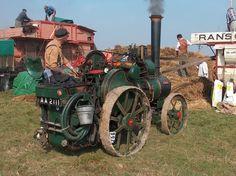 Buharlı Traktör (Steam)