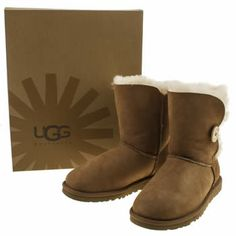 Women's Bailey Button Boots 5803 Sand £75.05 Snow Boots, Winter Boots, Australia Snow, Ugg Shoes, Uggs, Button, Fashion, Everything, Moda