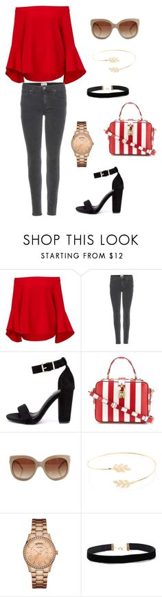 """""""summer outfit"""" by juliabartyzel on Polyvore featuring moda, Acne Studios, Cape Robbin, Dolce&Gabbana, STELLA McCARTNEY, Accessorize i GUESS"""