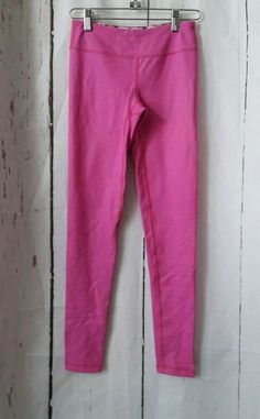 305b8af01 Ivivva Rhythmic Tight Pink White Striped Size 10 VGUC #fashion #clothing  #shoes #
