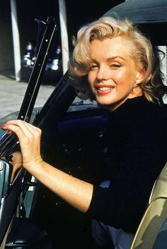Marilyn Monroe in Hollywood, 1953.