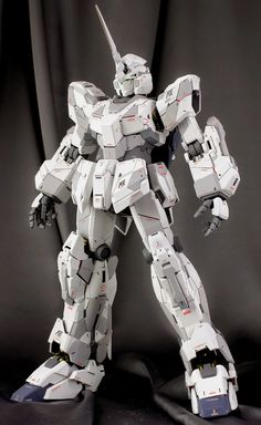 """Painted Build: PG 1/60 RX-0 Unicorn Gundam """"Detailed"""" - Gundam Kits Collection News and Reviews"""