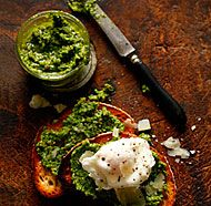 Manchego and Marcona Almond Pesto
