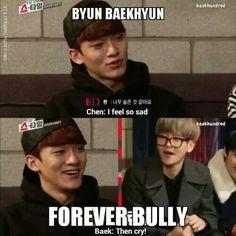 """Then Cry!"" I'm Torn x) I Want To Laugh Yet I Feel Pretty Bad For Them Haha"