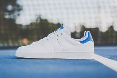 ADIDAS STAN SMITH VULC (WHITE/ROYAL) | Sneaker Freaker