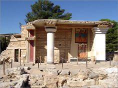 Palace of Knossos (2000 BC) Island of Crete, Greece
