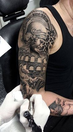 Rome Tattoo by Reşat Gül Tattoos and Tattoo Art