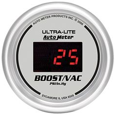 Auto Meter 6559 UltraLite Digital 2116 30 In HgVac30 PSI Digital VacuumBoost Gauge -- You can find out more details at the link of the image.