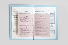 Palomar cocktail menu