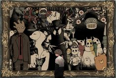 Eve Singer, Anime Neko, Anime Art, Eve Music, Japan Art, Japanese Artists, Fantastic Art, Character Drawing, Art Pictures