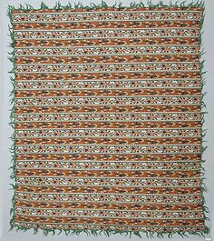 Shawl Date: 18th century Geography: India, Kashmir Culture: Islamic Medium: Silk; woven Accession Number: 13.83.6