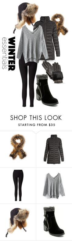"""""""Winter Essentials"""" by queenofsienna ❤ liked on Polyvore featuring Imposter, Canada Goose, Miss Selfridge, Chicwish, Preen, BareTraps and Rebecca Minkoff"""