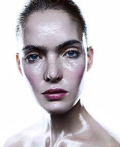 Our muse @anastasiakolganova_official ❤️ Make-up: @marishten ❤️ @nextmodels #TurnYourSkinOn