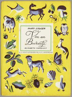 illustraties Elisabeth Ivanovsky, cover, book, design, lettering, colour, layout, animals, hare, woodland, illustration