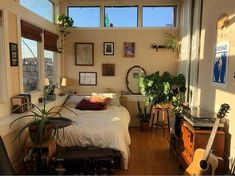 Cheap Home Decor .Cheap Home Decor Dream Rooms, Dream Bedroom, Bedroom Inspo, Bedroom Decor, Cozy Bedroom, Bedroom Loft, Design Bedroom, Earthy Bedroom, Nature Bedroom