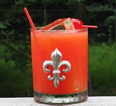 Tie Me To The Bedpost # 2 (1 oz. Vodka 1 oz. Amaretto 1 oz. Southern Comfort 2 oz. Orange Juice 1 oz. Grenadine)