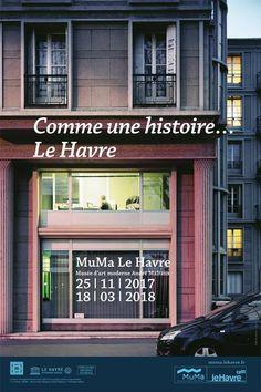 Exposition Comme une histoire... Le Havre (peintures et photos) - Novembre 2017/Mars 2018 - MoMa Le Havre