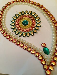 Rangoli Indian Wedding Decor Traditional by JustForElegance, $29.00