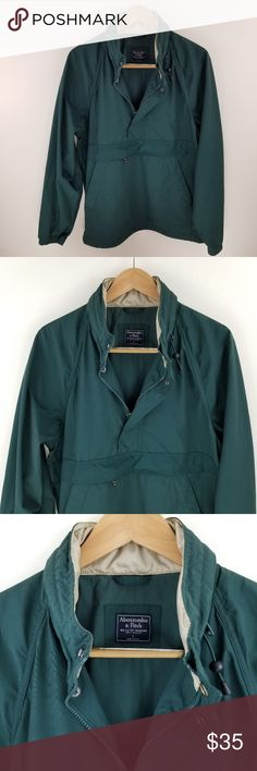 ABERCROMBIE FITCH ✔️ Man Raincoat/Windbreaker Abercrombie Fitch Man  New without Tag  Never been worn ( Gifted to my husband )  Same/NextDay Shipping Abercrombie & Fitch Jackets & Coats Raincoats