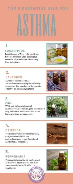 Discover the Top 5 Essential Oils for Asthma