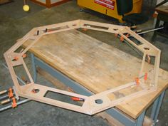 How to Build an Octagon Poker Table
