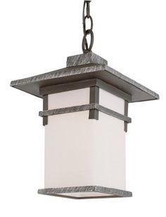 Trans Globe Lighting 40026 SWI 1-Light Hanging Lantern, Swedish Iron by Trans Globe Lighting. $189.89. A matching collection of classic outdoor landscape décor. Square frame and shade, with decorative strips. Angled roof with chimney stack. Great style.. Save 20% Off!