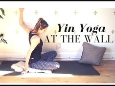 Video - Yoga Yin Yoga At The Wall - Restorative Yin Yoga for Beginners 30 min Fitness & Diets : Move it Or Lose It source for fitness Motivation & News Yin Yoga, Yoga Meditation, Kundalini Yoga, Ashtanga Yoga, Quick Weight Loss Diet, Weight Loss Help, Weight Loss Program, Lose Weight In A Week, Ways To Lose Weight