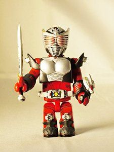 Medicom Toy KUBRICK Kamen Rider Ryuki Dragon Knight Ryuki Red Color figure