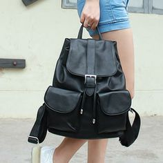 Faux-Leather Backpack from #YesStyle <3 Baobibi YesStyle.com