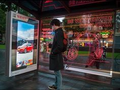SEAT Ibiza changes color with smartphones | JCDecaux The Netherlands