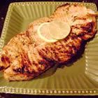 Marinated Grilled Sword Fish