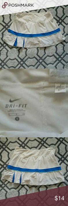 Nike Tennis Skirt Polyester and spandex Nike Skirts