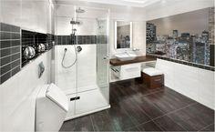 Proměňte svou koupelnu v oázu klidu za pomoci sprchového koutu se zenovým motivem. Oahu, Bathtub, Bathroom, Standing Bath, Washroom, Bathtubs, Bath Tube, Full Bath, Bath