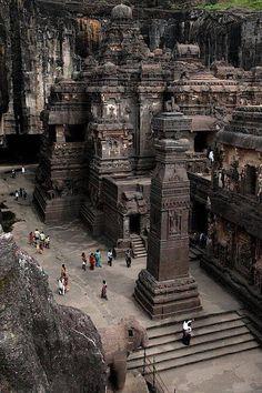 Templo de Kailasa, Ellora, na Índia