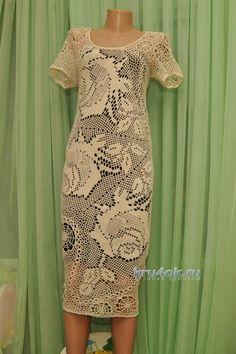 Нежные летние платья, связанные крючком — Рукоделие