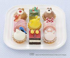 【2014】ケーキに隠れたディズニーキャラ、全部わかる?「こどもの日」限定スイーツ、銀座コージーコーナーから