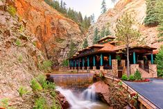The Broadmoor's New Dining Experience, Restaurant 1858, at the foot of Seven Falls in Colorado Springs, CO