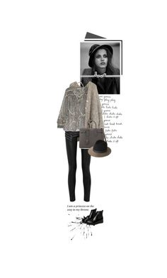 """""""I am a princess on the way to my throne."""" by beingaries ❤ liked on Polyvore featuring Yves Saint Laurent, Étoile Isabel Marant, DANNIJO, rag & bone and WithChic"""