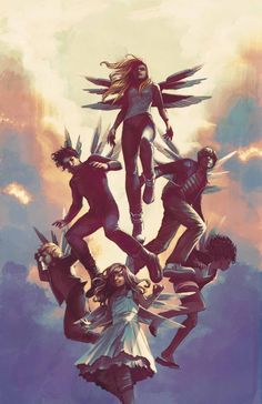 JAMES PATTERSON MAX RIDE: FIRST FLIGHT #3 (OF 5) Marvel Comics May 2015 Covers and Solicitations - Comic Vine