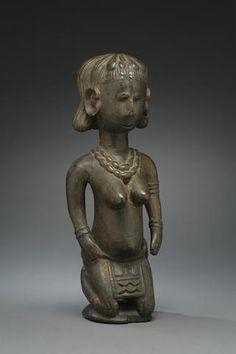 A Baga female figure
