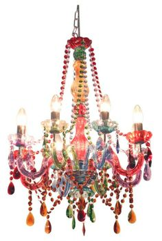 """Colorful Chandelier from """"Silly Chandeliers"""""""