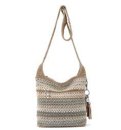 b7f8a2c57 Hand-Crocheted Neutral Crossbody Cross Body Handbags, The Sak Handbags,  Hand Crochet,