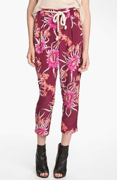 Viva Vena! Floral Pleated Pants available at #Nordstrom